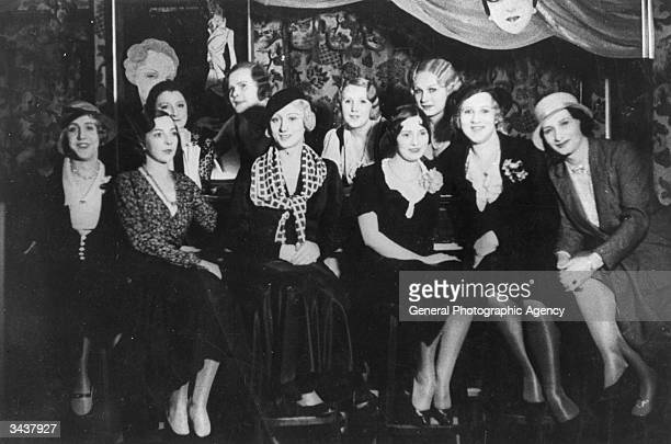 A group of women and four transvestites at the bar of the Eldorado nightclub in Berlin's Schoneberg district The Eldorado was a popular night spot...