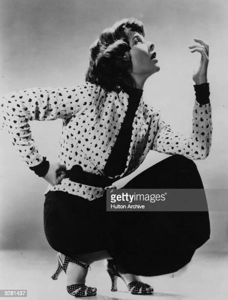 American film star Katharine Hepburn