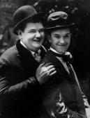 Film comics Oliver Hardy and Stan Laurel
