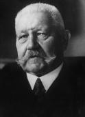 German President Paul Ludwig von Hindenburg During the First World War he was supreme commander and along with Ludendorff directed Germany's policy...