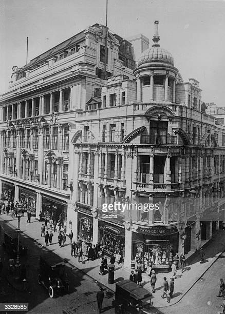 Lyon's Corner House on junction of Coventry Street and Rupert Street in Piccadilly London W1