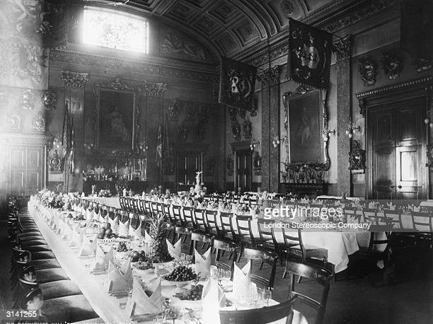 The Banquetting Hall at the Fishmongers Hall London