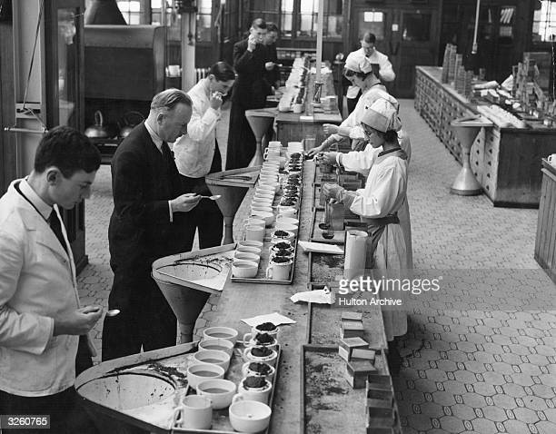 5000 cups of tea daily being tested under stringent conditions at Greenford