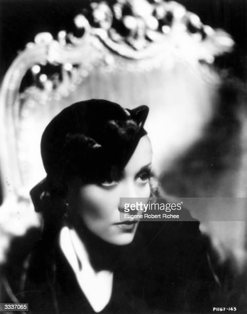 German born American actor and singer Marlene Dietrich
