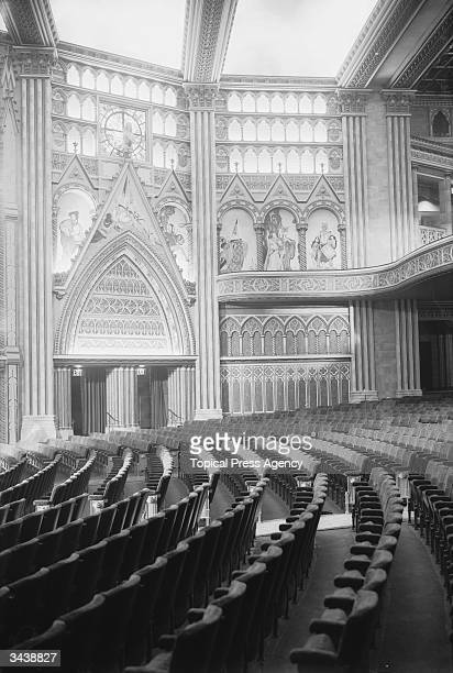 The interior of the Granada cinema in Tooting London