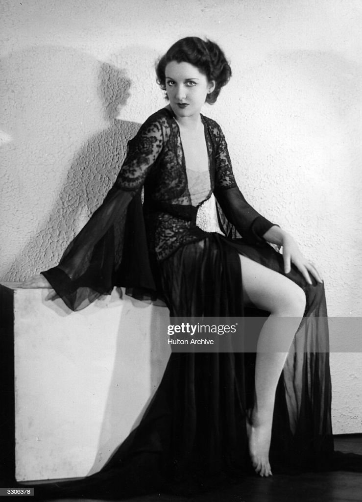 British actress Anne Grey, who appeared in such films as 'The Lost Chord', 'The Golden Cage', 'Arms And The Man' and 'Leap Year'.