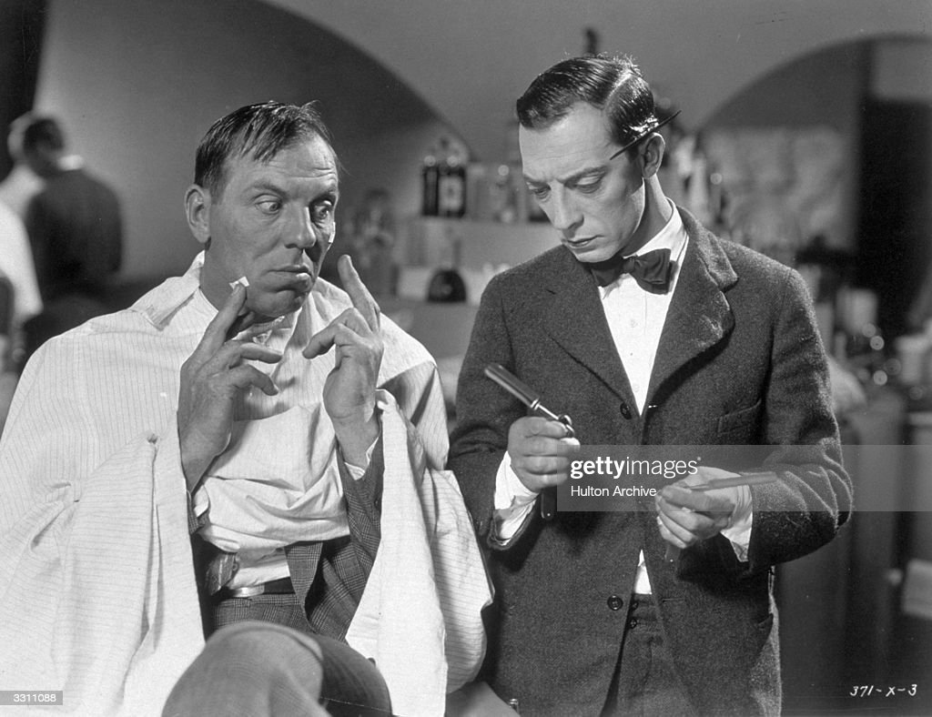 Buster Keaton plays an untrained barber opposite Karl Dane in the film 'Country Dance' The film alternatively titled 'Brotherly Love' was directed by...