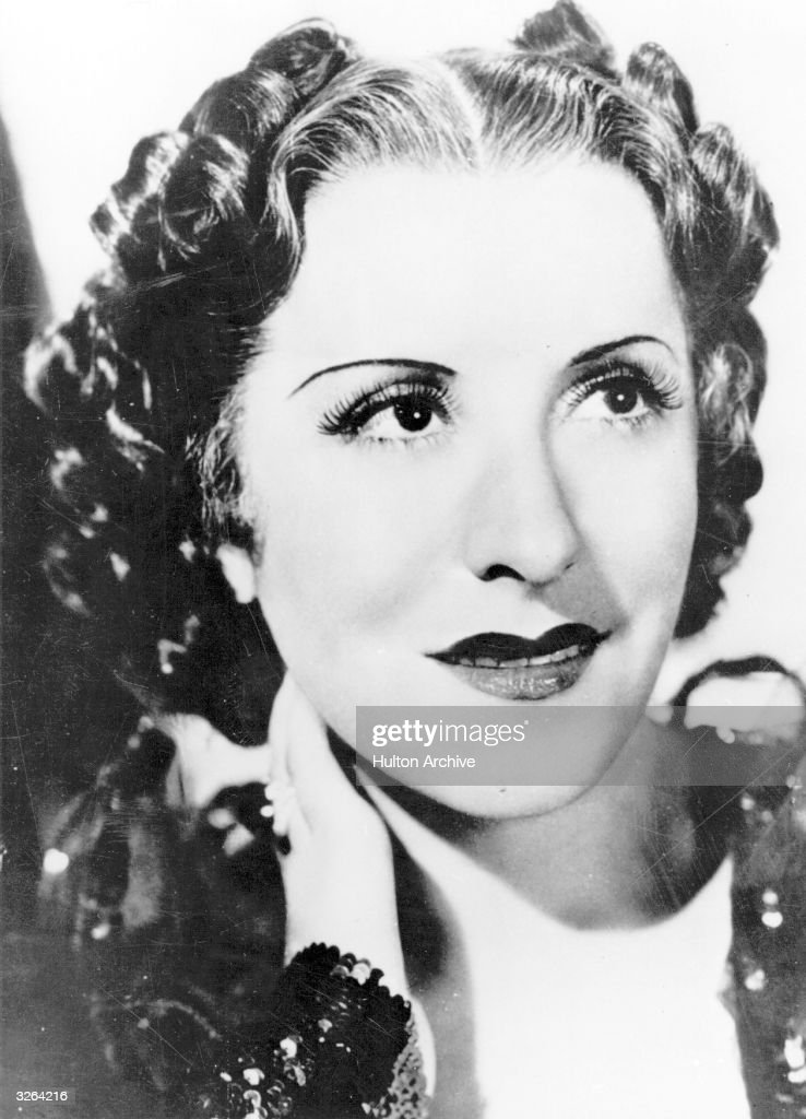 Gracie Allen the American comedienne who worked for over 30 years in film radio and television generally in the company of her husband George Burns