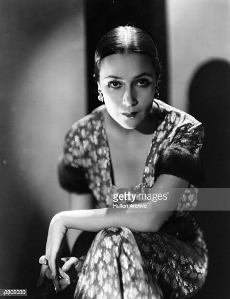 Hollywood actress Dolores del Rio one of the first Mexican movie stars to be internationally successful