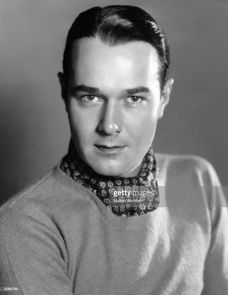 William Haines (1900 - 1973) the Hollywood film actor who broke into films through a talent show while working as an office boy on Wall Street.