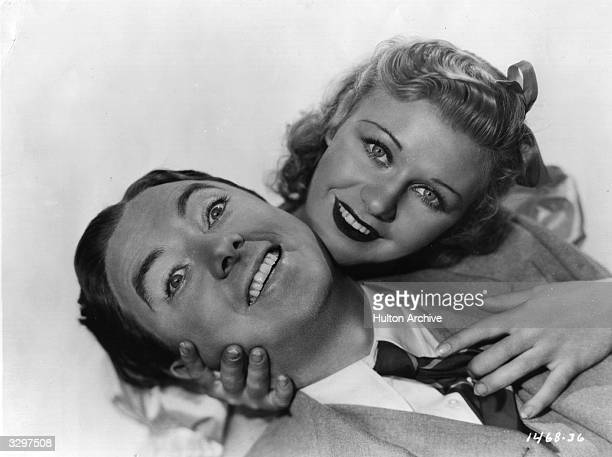 Jack Haley and Ginger Rogers r in a scene from 'Sitting Pretty' Title Sitting Pretty Studio Paramount Director Harry Joe Brown