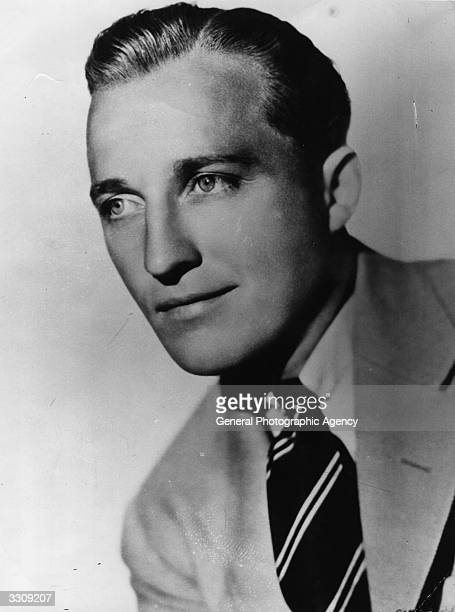 American crooner and former band singer Bing Crosby