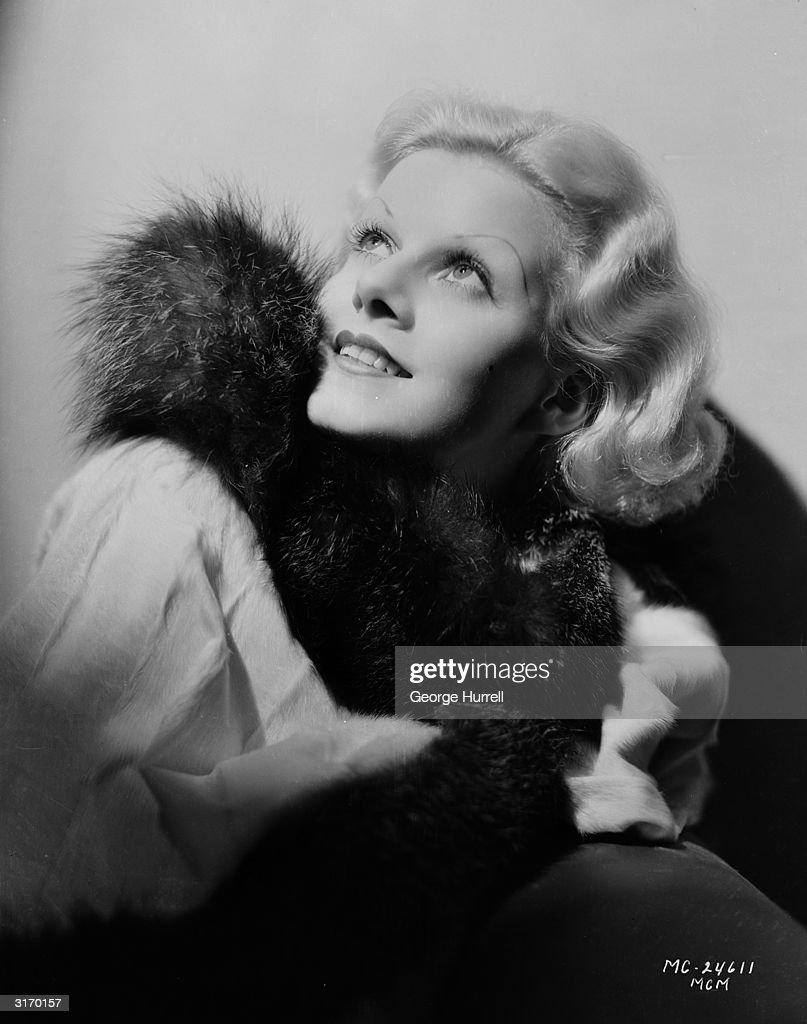 American film star Jean Harlow who was engaged to actor William Powell at the time of her early demise