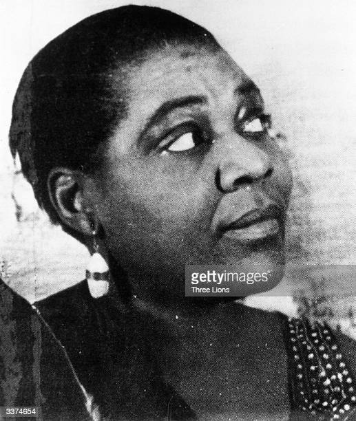 American singer Bessie Smith known as the Empress of the Blues
