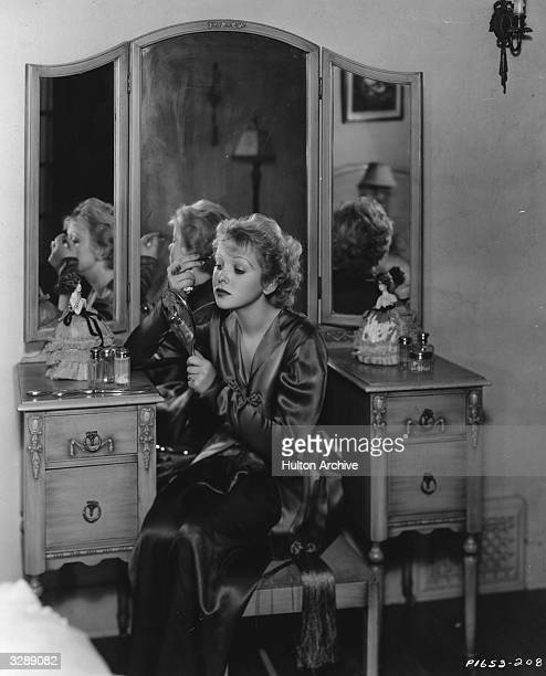 British actress and director Ida Lupino in her dressing room at the Paramount studios She starred in such films as 'The Light That Failed' with...