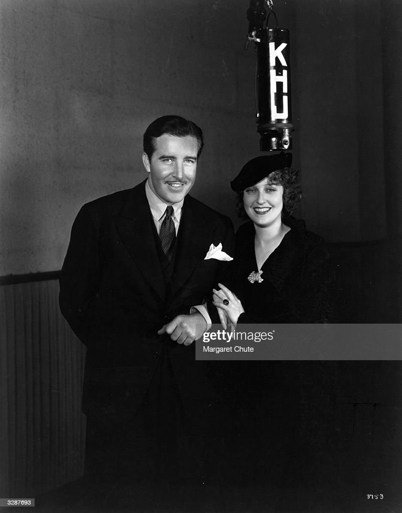 John Boles the Hollywood actor seen here with the MGM star Jeanette MacDonald at a Salvation Army benefit function