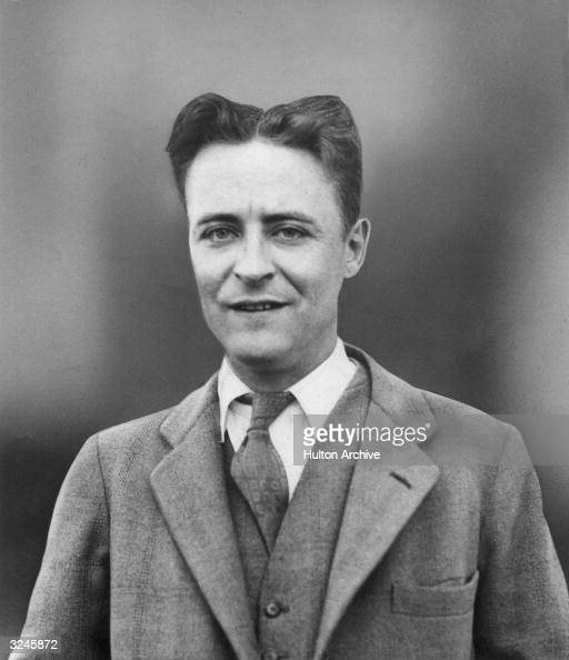 Portrait of American author Francis Scott Fitzgerald
