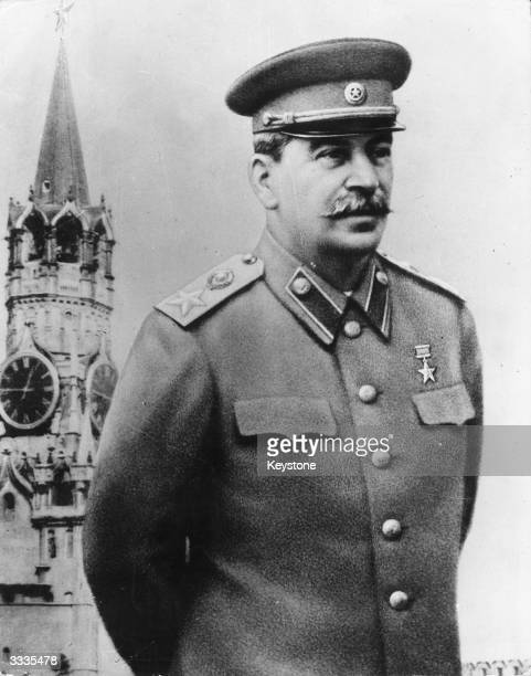 Soviet Communist dictator Joseph Stalin