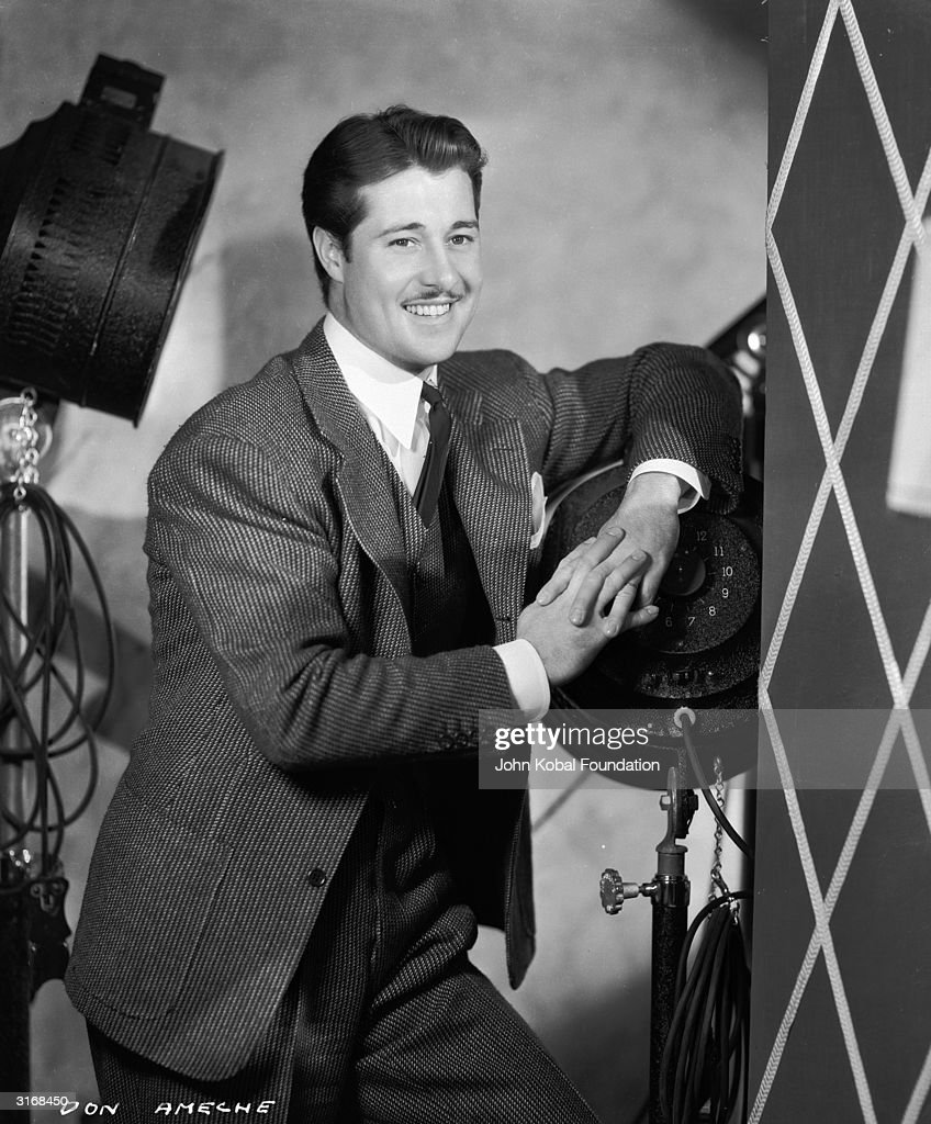 Versatile American film, television and radio actor <a gi-track='captionPersonalityLinkClicked' href=/galleries/search?phrase=Don+Ameche&family=editorial&specificpeople=214190 ng-click='$event.stopPropagation()'>Don Ameche</a> (1908 - 1993).