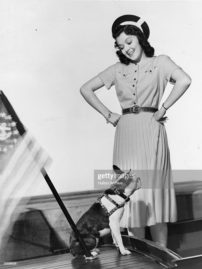 <a gi-track='captionPersonalityLinkClicked' href=/galleries/search?phrase=Ann+Rutherford&family=editorial&specificpeople=566836 ng-click='$event.stopPropagation()'>Ann Rutherford</a> (1920 - 2012) the Hollywood film star and actress, signed by MGM to play in 'Benefits Forgot' with <a gi-track='captionPersonalityLinkClicked' href=/galleries/search?phrase=Walter+Huston&family=editorial&specificpeople=224786 ng-click='$event.stopPropagation()'>Walter Huston</a>, directed by Clarence Brown. The film was in fact released as 'Of Human Hearts' in 1938.