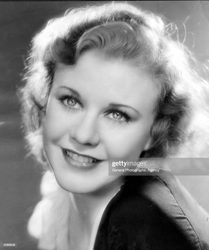Hollywood star and dancer Ginger Rogers (1911 - 1995) formerly Virginia Katherine McMath.
