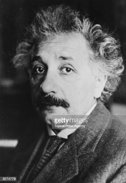 Albert Einstein the German physicist who formulated the theory of relativity