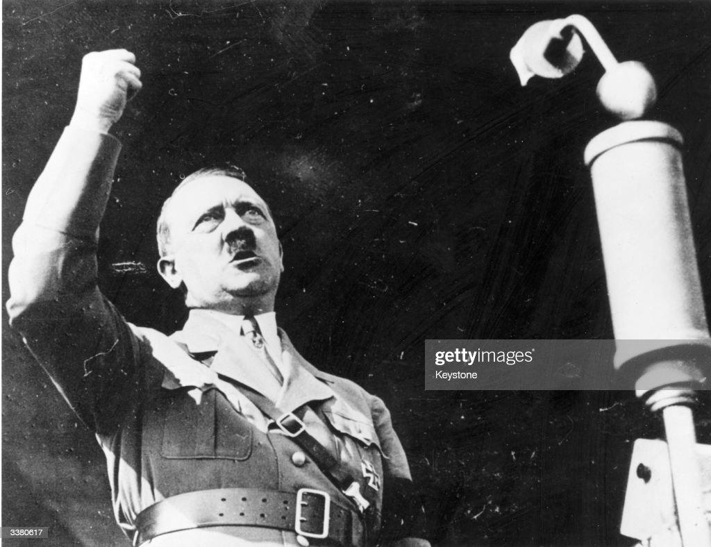 A biography of the german dictator adolf hitler