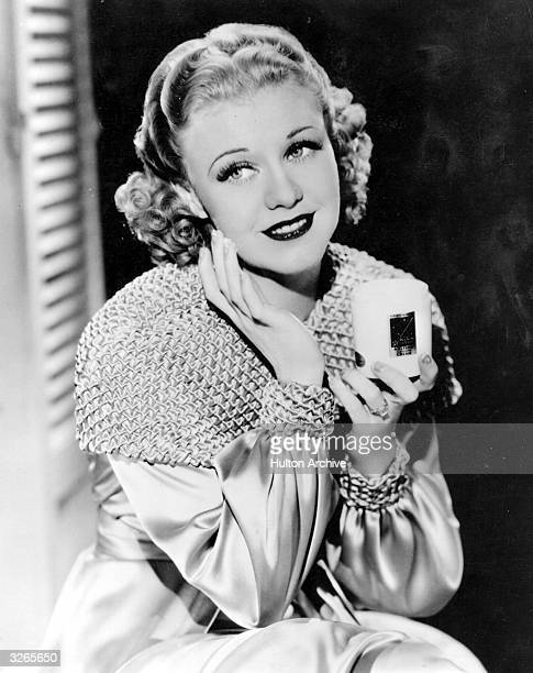 Hollywood film star and dancer Ginger Rogers formerly Virginia Katherine McMath