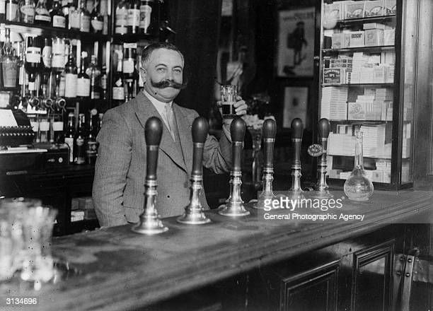 Victor Berlemont a French publican working in an establishment of London's Soho