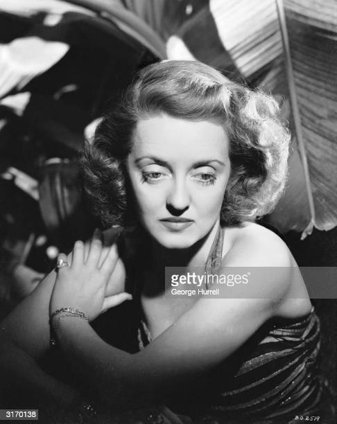 American actress Bette Davis who became a star after impressive performances in 'Of Human Bondage' and 'The Man Who Played God'