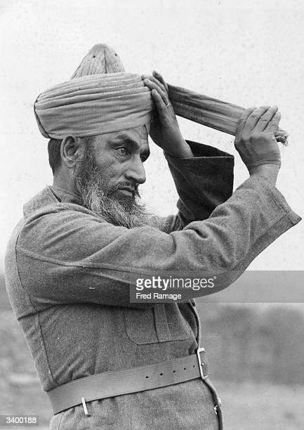 An Indian member of the Indian Army Services Corps some of whom were evacuated from Dunkirk together with the British Expeditionary Force