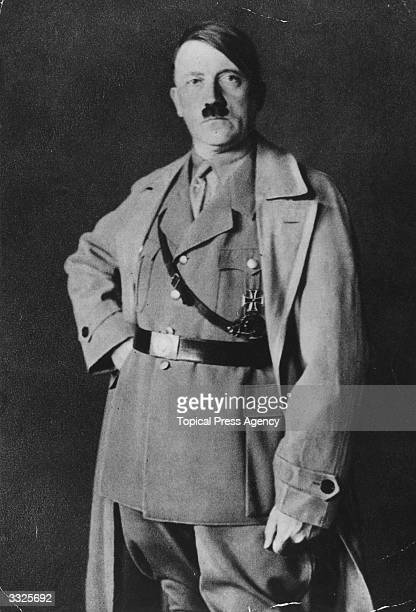 German political and government leader Adolf Hitler