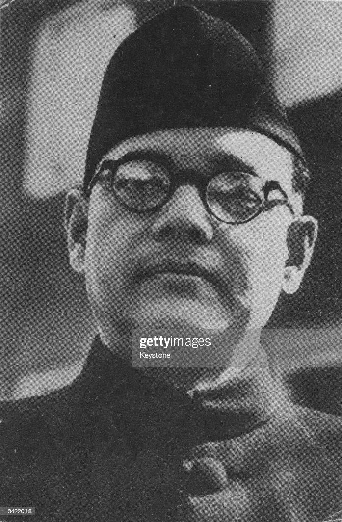 Indian nationalist leader, Subhas Chandra Bose (1897 - 1945).