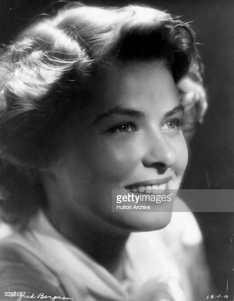 Ingrid Bergman Swedish film and stage actress