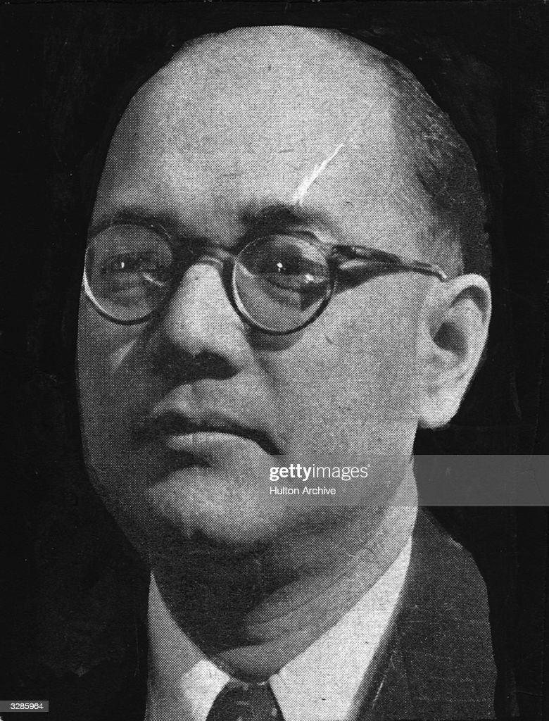 Subhas Chandra Bose (1895 - 1945), the Indian Nationalist leader. He became commander-in-chief of the Japanese-sponsored Indian National Army during the war. and was presumed killed in Formosa in 1945.