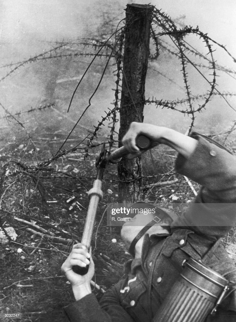 Image result for ww2 german soldier with wire cutters