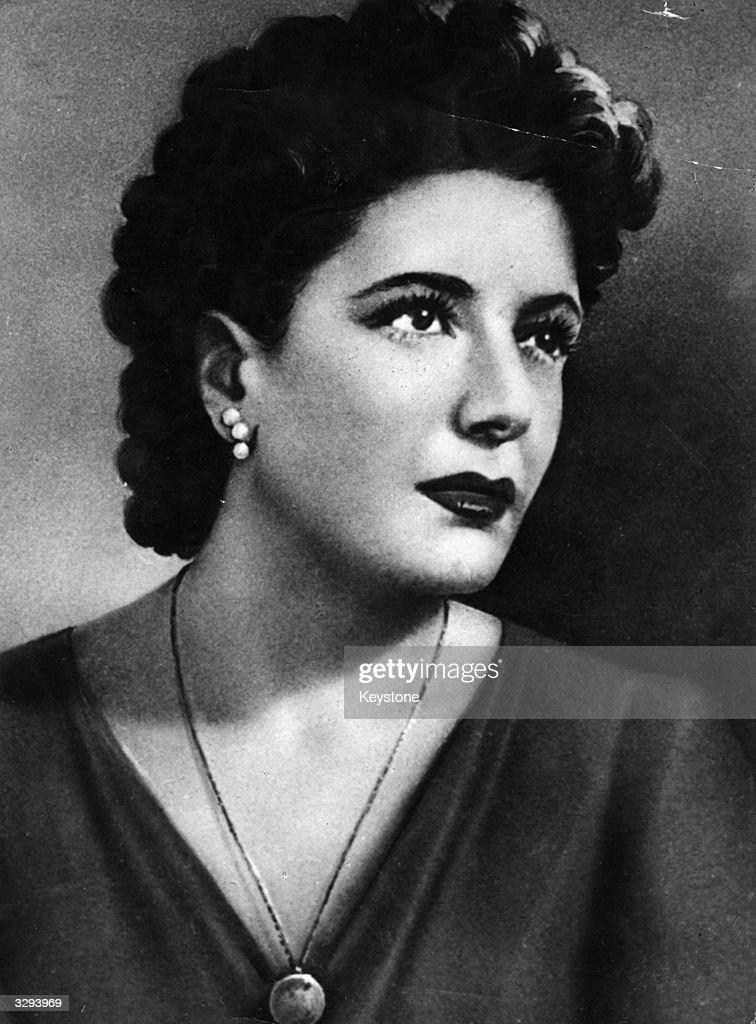 Clara Petacci, mistress of Italian Fascist dictator Benito Mussolini.