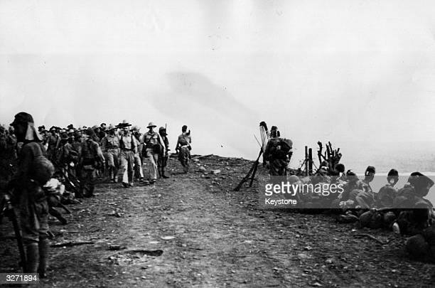 The Japanese after their victory at Bataan showed no mercy to the prisoners of war secured after their victory They marched their prisoners into the...