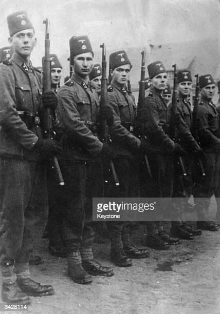 Bosnian volunteers serving in the Nazi Wehrmacht