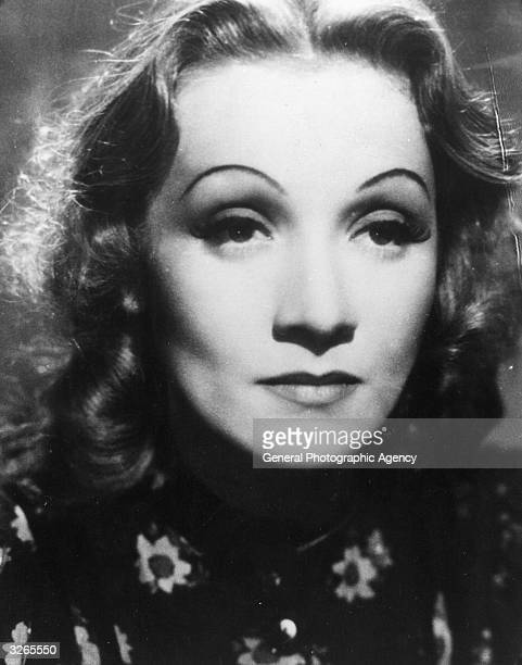 Marlene Dietrich the stage name of Maria Magdalena Von Losch the German singer and actress who spent most of her career in America