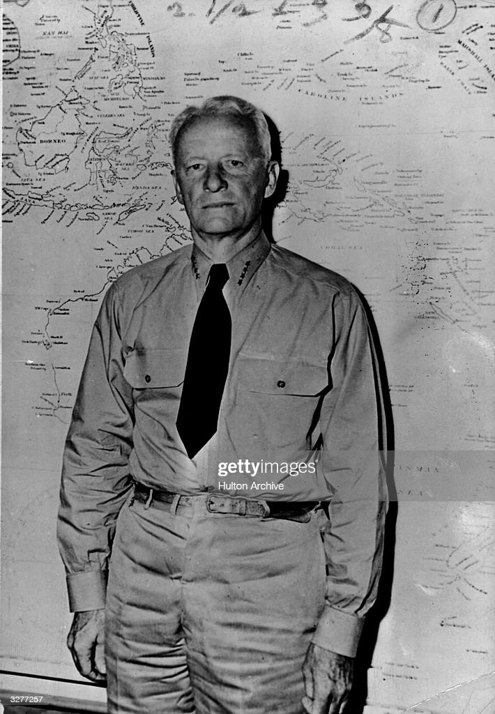 Admiral Chester W Nimitz Commander in Chief of the US Pacific Fleet He directed the strategy of American forces in the Midway Island victory during...