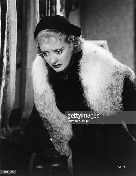 American actress Bette Davis in a scene from the film 'Dangerous'
