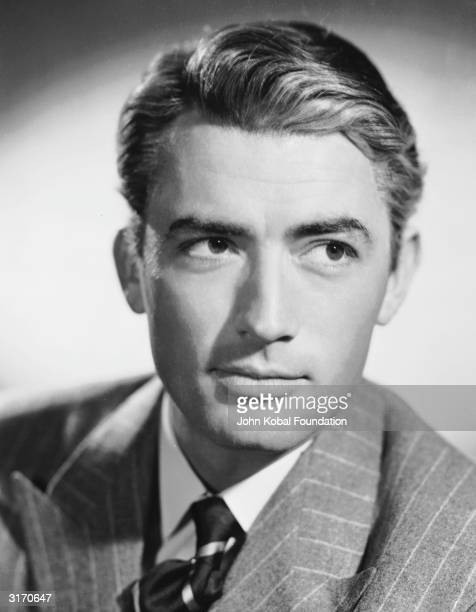 American actor Gregory Peck the romantic lead of such classics as 'Spellbound' and 'Roman Holiday'