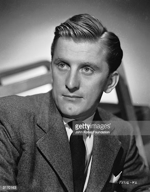 American actor Kirk Douglas who portrayed artist Vincent Van Gogh in 'Lust for Life'