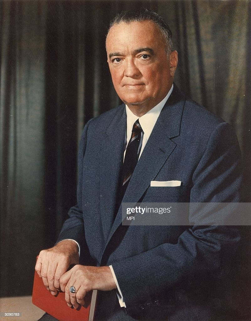 American criminologist John Edgar Hoover (1895 - 1972), the Director of the FBI (Federal Bureau of Investigation) for 48 years.