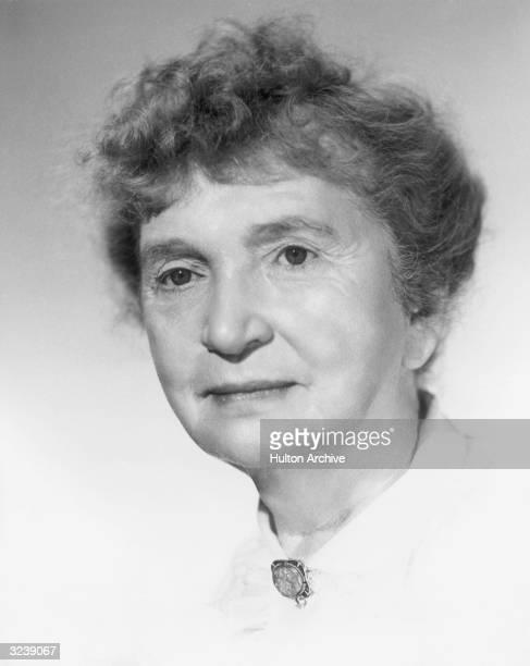 Headshot portrait of Margaret Sanger American social activist and founder of Planned Parenthood