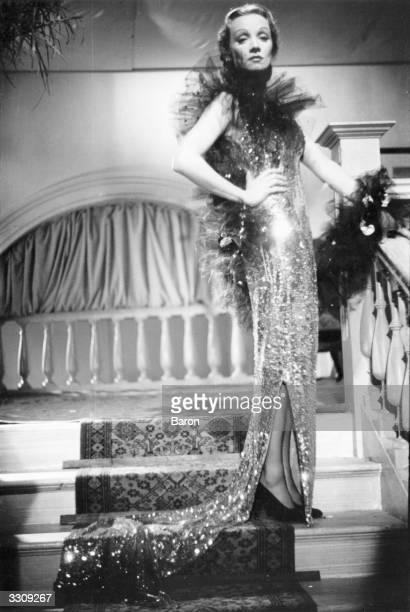Marlene Dietrich the German film actress