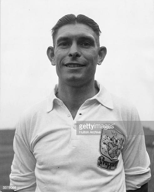 Fulham FC and England International soccer player Jimmy Taylor