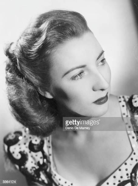 Dame Vera Lynn in a studio portrait