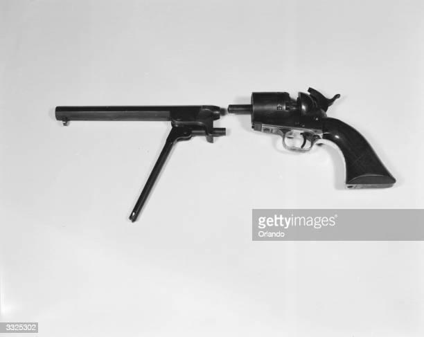 A field stripped 1851 Colt American Civil War revolver